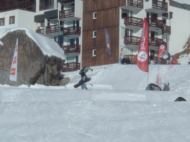 Val Thorens events, Ski and Boarderweek, December 2012, the Easy Fun Park