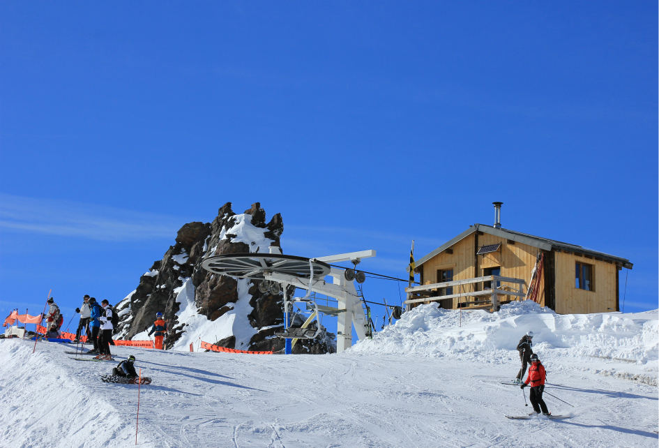 Col chairlift, Val Thorens