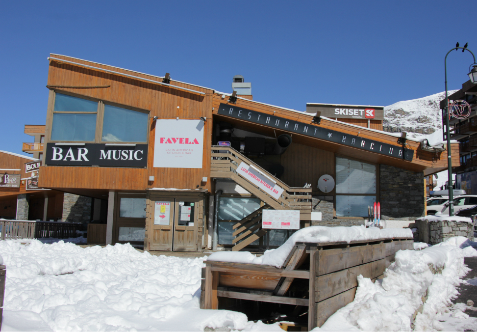 Le Favela, Val Thorens, restaurant and bar