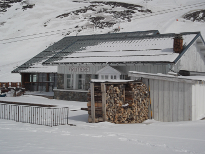 Val Thorens ski area - mountain restaurant
