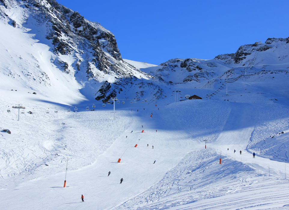 Moraine sector, Val Thorens