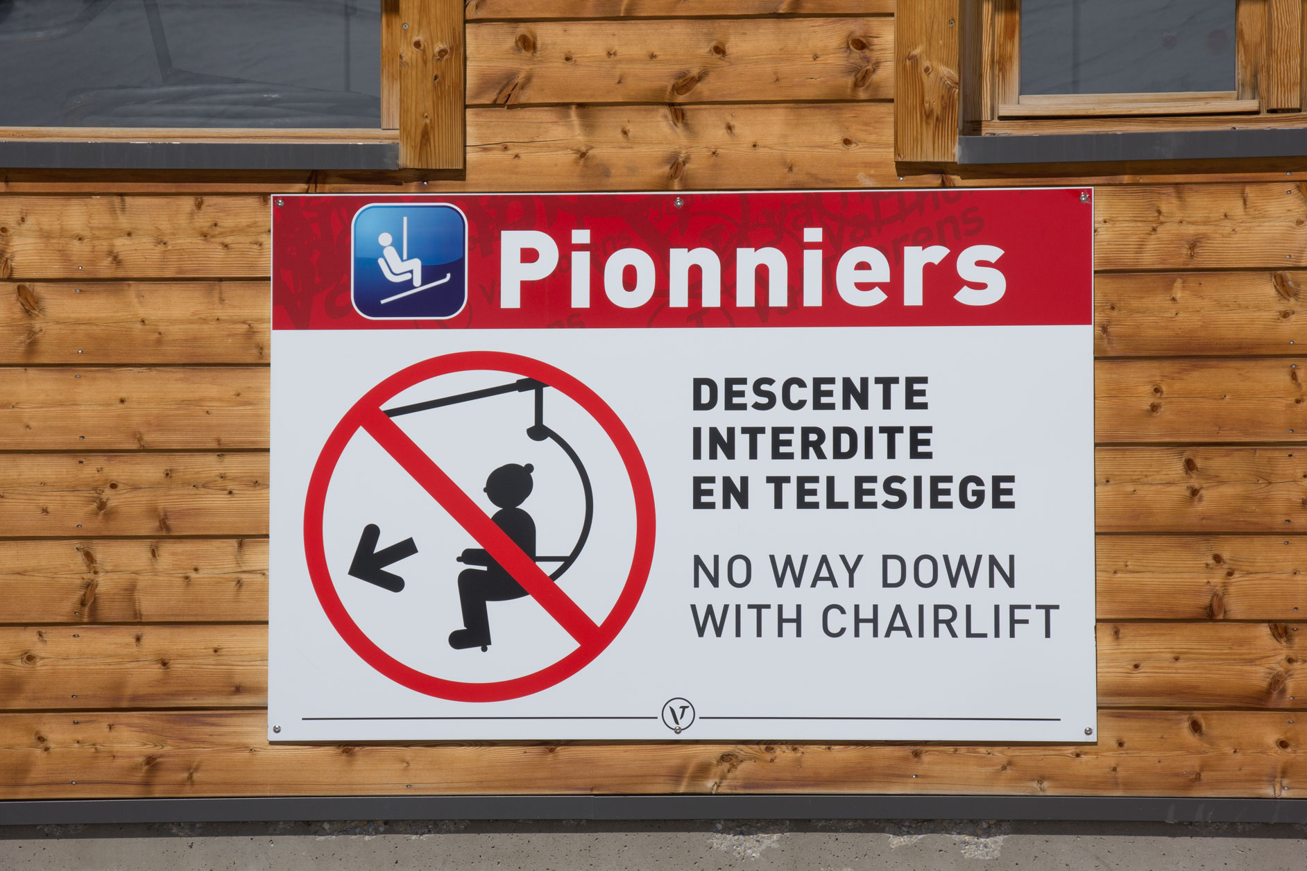 Pionniers sign