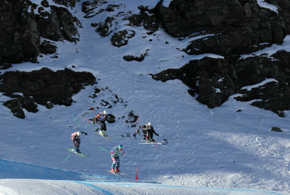 Skicross World Cup, Val Thorens, 10th December 2016