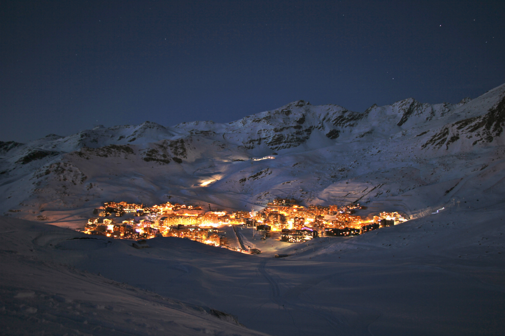 Val Thorens in the present